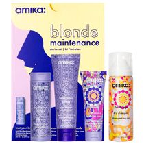 amika Blonde Maintenance 黄み消しヘアケア お試しセット