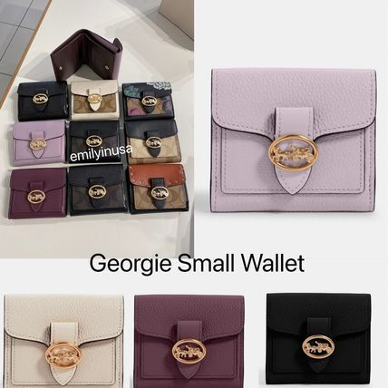 Coach 折りたたみ財布 限定販売 COACH★Georgie Small Wallet 6654