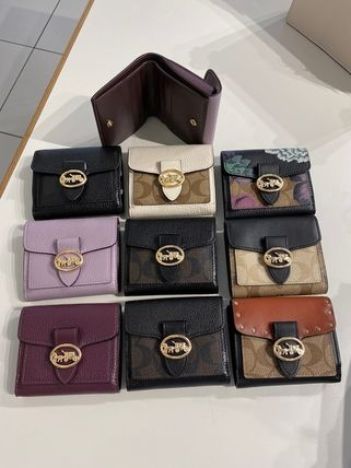 Coach 折りたたみ財布 限定販売 COACH★Georgie Small Wallet 6654(6)