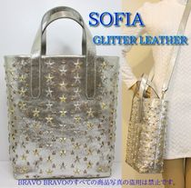 JIMMY CHOO★VIPセール★SOFIA/GLITTER LEATHER★即発送可♪