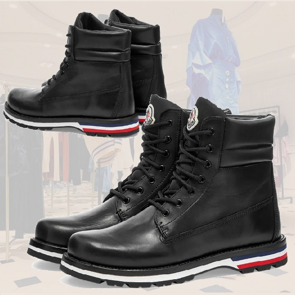 **Moncler**モンクレール★VANCOUVER LEATHER HIKING ブーツ (MONCLER/ブーツ) 64274042