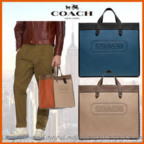 COACH ◇ ロゴ トートField Tote 40 In Colorblock