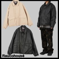 ★関税込★RAUCOHOUSE★LEATHER ZIP UP JUMPE.R ★ジャケット★