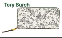 Tory Burch Perry Printed Zip Continental Wallet
