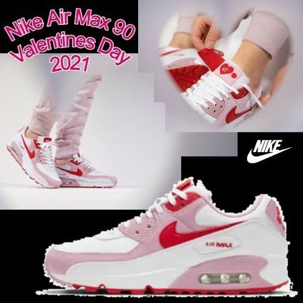 Nike Air Max 90 Valentines Day 2021 ホワイト×レッド×ピンク