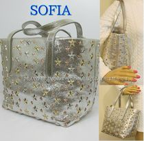 JIMMY CHOO★VIPセール★SOFIA/S GLITTER LEATHER★即発送可♪