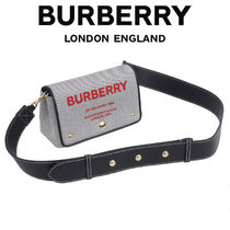 BURBERRY 2WAY バッグ ホースフェリープリント 8036714-A1189