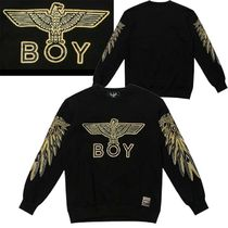 BOY LONDON★ Spangle embroidery logo   / 最後の在庫特価割引