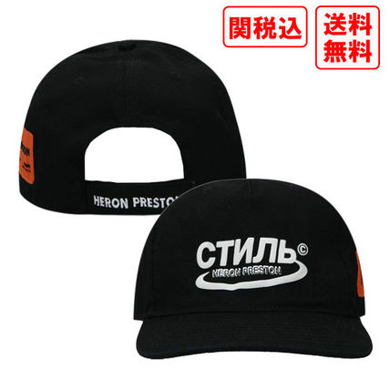 関税・送料込 Heron Preston CTNMB HALO CANVAS キャップ