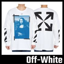 【Off-White】BLUE MONALISA DOUBLE OVER 長袖
