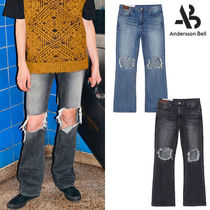 ANDERSSON BELL(アンダースンベル) デニム・ジーパン ★ANDERSSON BELL★送料込み★韓国★DESTROYED BOOTS CUT JEANS