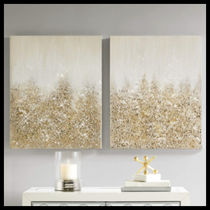 【Madison Park】wall deco 絵画 Embellished 2pc Gold