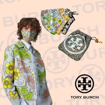 【Tory Burch】PRINTED FACE MASK, SET OF 3 WITH POUCH