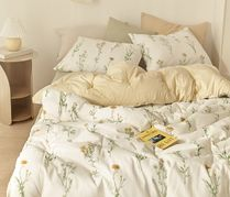 【DECO VIEW】Freesia recycling  blanket +Pillowcase-SS