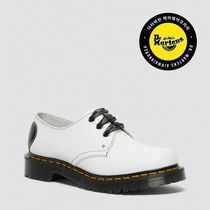 DR.MARTENS★1461 Hearts White Smooth & Black Patent Lamper