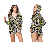 ZUMBA(ズンバ) その他 Zumba★ The Hype Is Real Zip-Up Jacket パーカー ジャケット