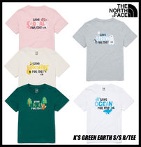 【THE NORTH FACE】K'S GREEN EARTH S/S R/TEE