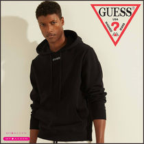 【GUESS】ECO ROY EMBROIDERED LOGO HOODIE 新作!