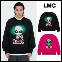 ☆LMC☆ スウェット SMOKING ALIEN SWEATSHIRT