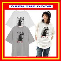 [OPEN THE DOOR]  life napping 1/2 T (2 color) /追跡付