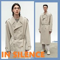 ◆IN SILENCE◆2021SS OVERSIZE TRENCH COAT CREAM