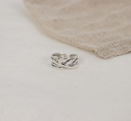 SCENERITY 指輪・リング SCENERITY Twisted Silver Ring(2)