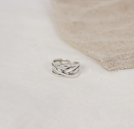 SCENERITY 指輪・リング SCENERITY Twisted Silver Ring(3)