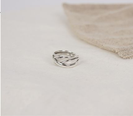 SCENERITY 指輪・リング SCENERITY Twisted Silver Ring(4)
