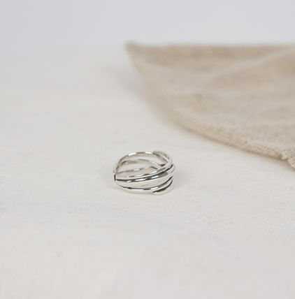 SCENERITY 指輪・リング SCENERITY Twisted Silver Ring(6)