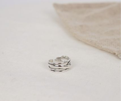 SCENERITY 指輪・リング SCENERITY Twisted Silver Ring(7)