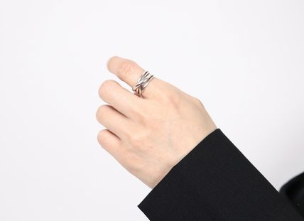 SCENERITY 指輪・リング SCENERITY Twisted Silver Ring(8)