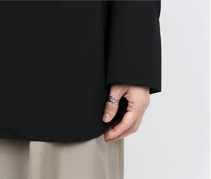 SCENERITY 指輪・リング SCENERITY Twisted Silver Ring(9)