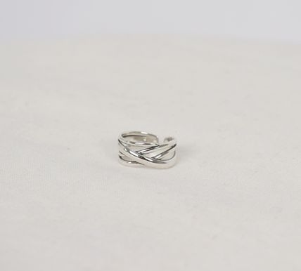 SCENERITY 指輪・リング SCENERITY Twisted Silver Ring(13)
