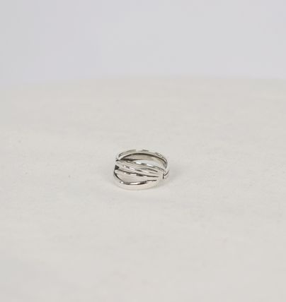 SCENERITY 指輪・リング SCENERITY Twisted Silver Ring(15)