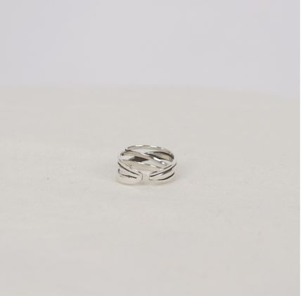SCENERITY 指輪・リング SCENERITY Twisted Silver Ring(16)