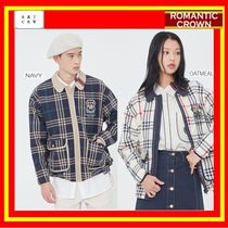 [ROMANTIC CROWN]  CLASSIC CHECK JACKET / 2色/追跡付