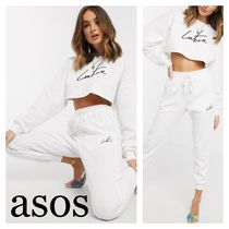 ASOS The Couture Club ワッフル生地 スウェットジョガー
