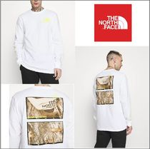 The north Face☆Men's BASE FALL GRAPHIC Long T-Shirt★