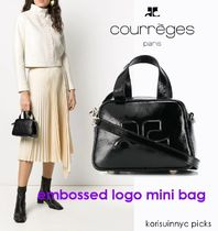 SALE*COURREGES*embossed logo mini bag ミニバッグ