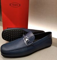 VIPセール50%オフ【TODS FO FERRARI LEATHER MOCASIN】