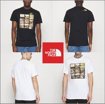 The north Face☆Men's BASE FALL GRAPHIC  T-Shirt 2色★