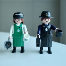 【Starbucks Playmobil】JOY+JUN セット