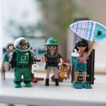 Starbucks Playmobil★6点セット(JOY,JUN,JAY,JENNY,GRACE,LEO)