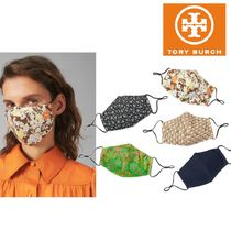 21ss 新作 【 Tory Burch 】 PRINTED FACE MASK マスク セット
