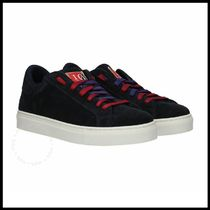 【a.testoni】SUEDE LACE UP SNEAKERS 関税/送料込