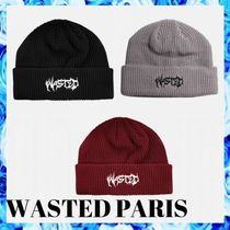 WASTED PARIS 3色展開 FUTUR ビーニー 21AW○関税・送料無料○