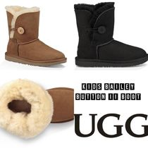 UGG ☆KIDS BAILEY BUTTON II BOOT ~24.5cm キッズ・大人 ブーツ