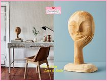 関税送料込【Anthro】Visage Sculpture Decorative Object