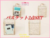 関税送料込【Anthro】Dolores Hanging Basket 2点SET