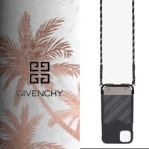 GIVENCHY REFRACTED クロスボディ IPHONE 11 ケース 2021SS
